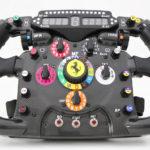 Explicando o volante de um F1
