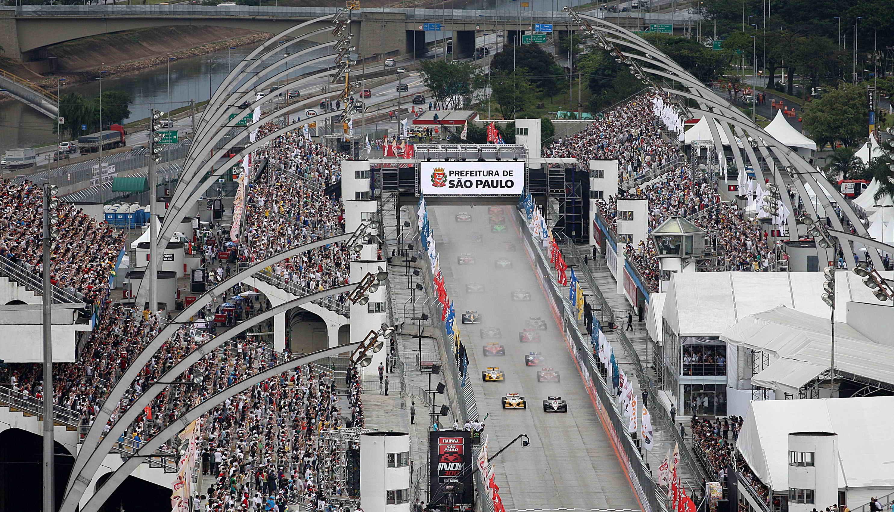 Largada Indy 2011