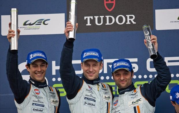 Bruno Senna (esquerda) em Spa-Francorchamps