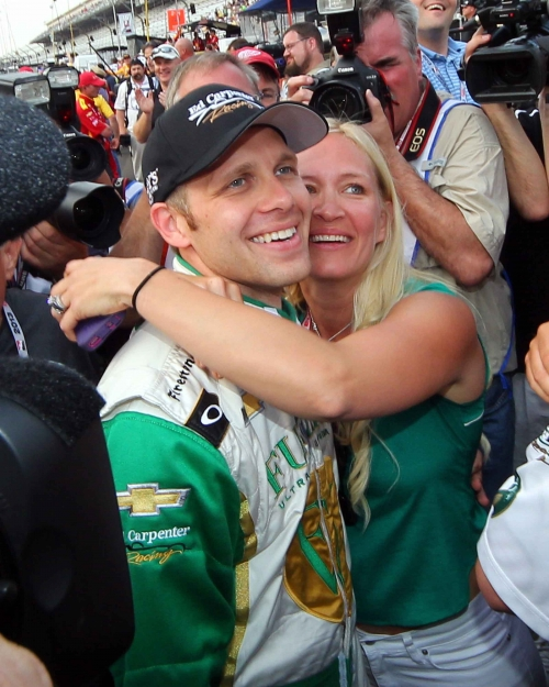 Ed Carpenter 500 2013