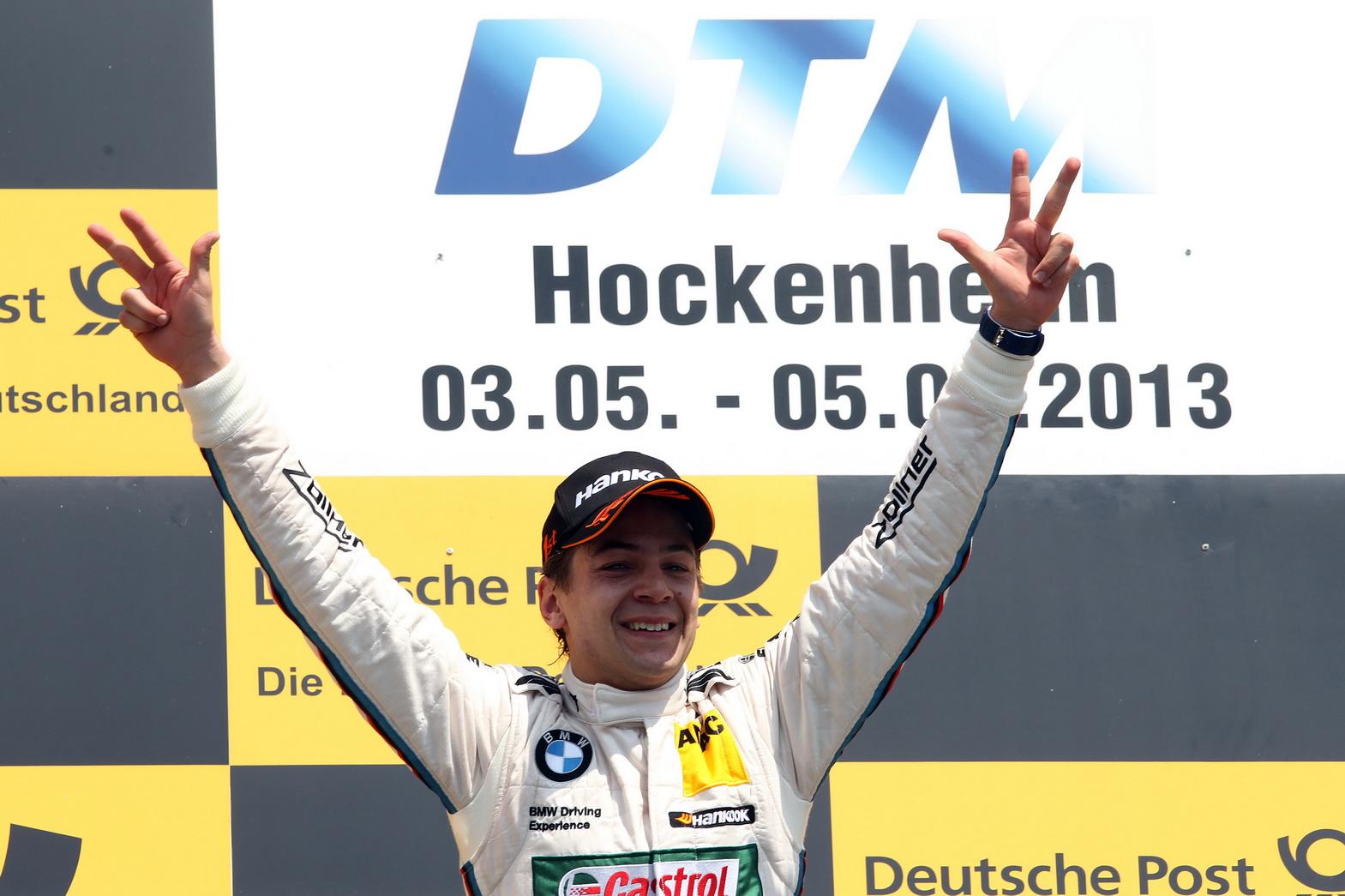 Augusto Farfus conquistou a primeira vitória para o Brasil na DTM