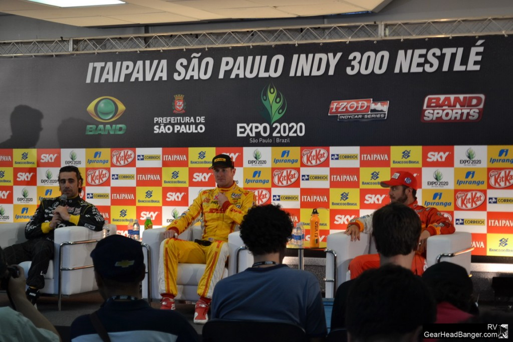 Franchitti, Hunter-Reay e Viso falaram sobre as mudanças no circuito