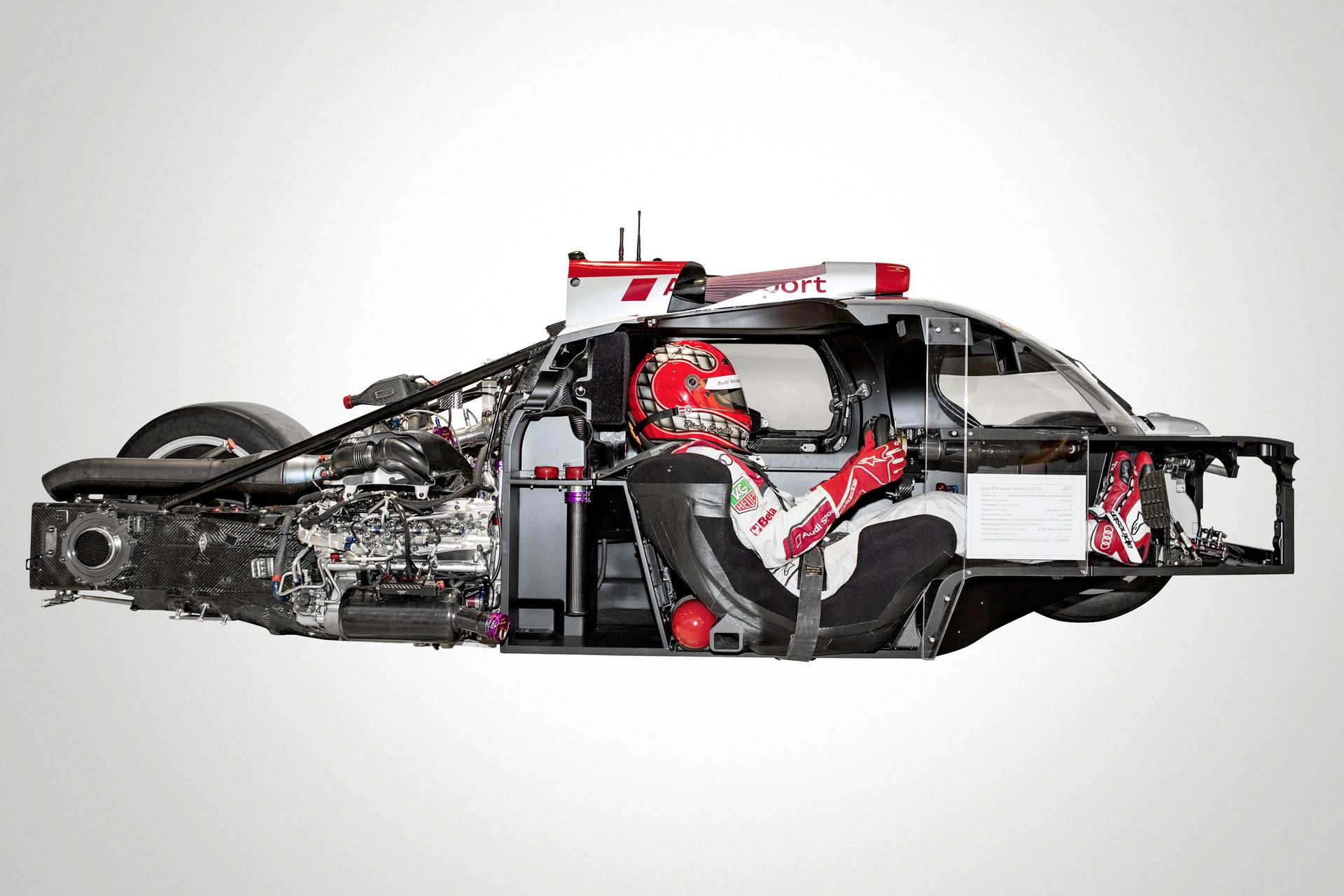 Audi R 18 Cutaway