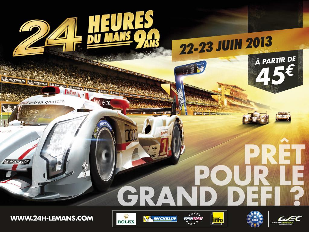 Le Mans 2013 poster