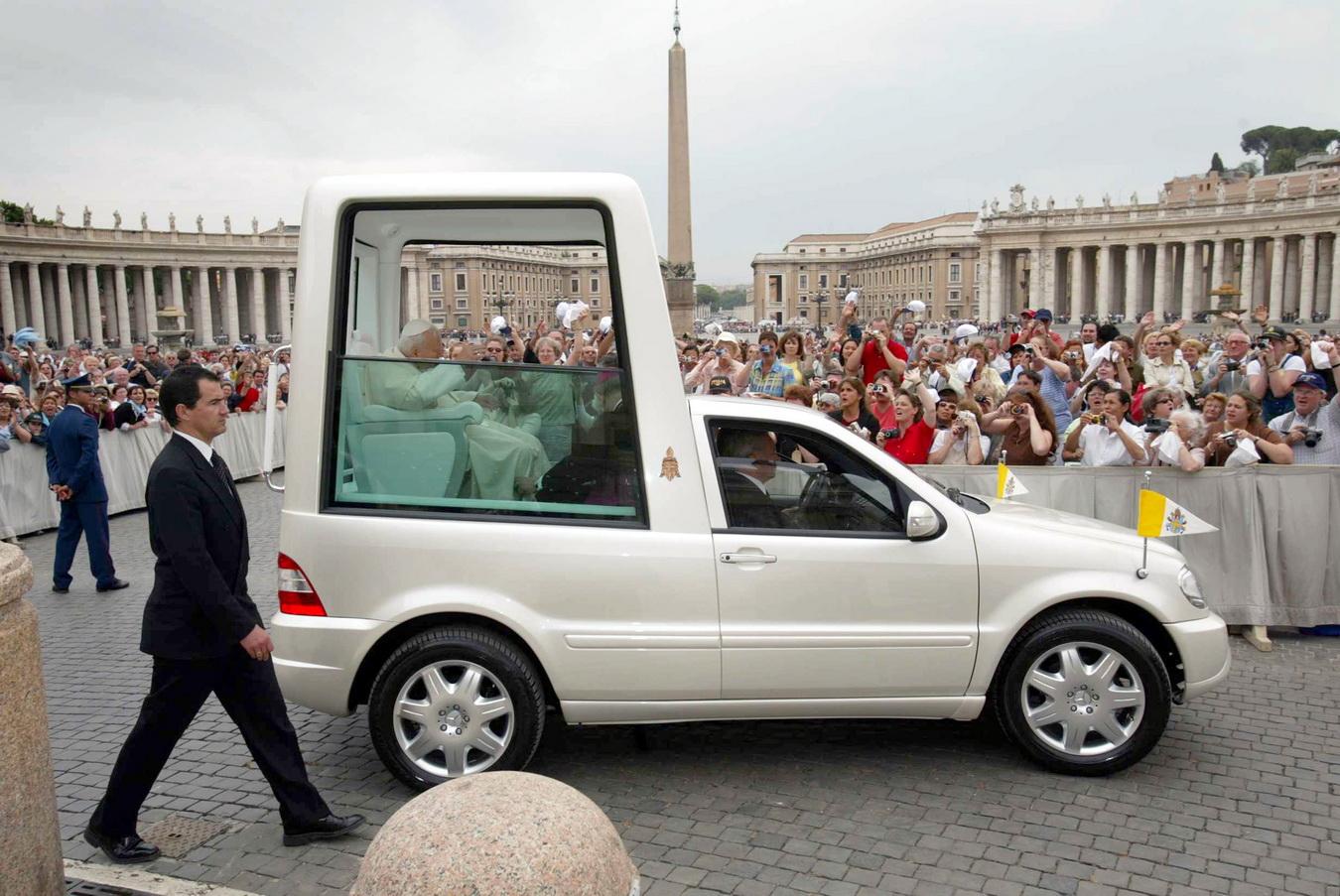 Classe ML: último modelo criado para o Papa João Paulo II