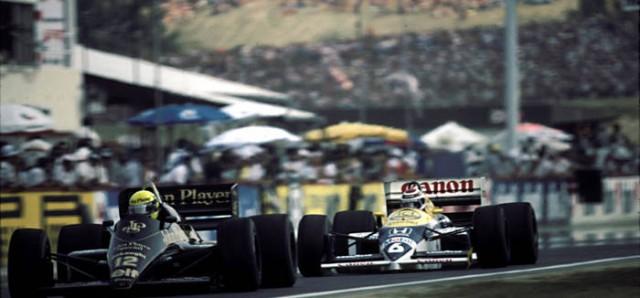 Hungria - Piquet Senna 86